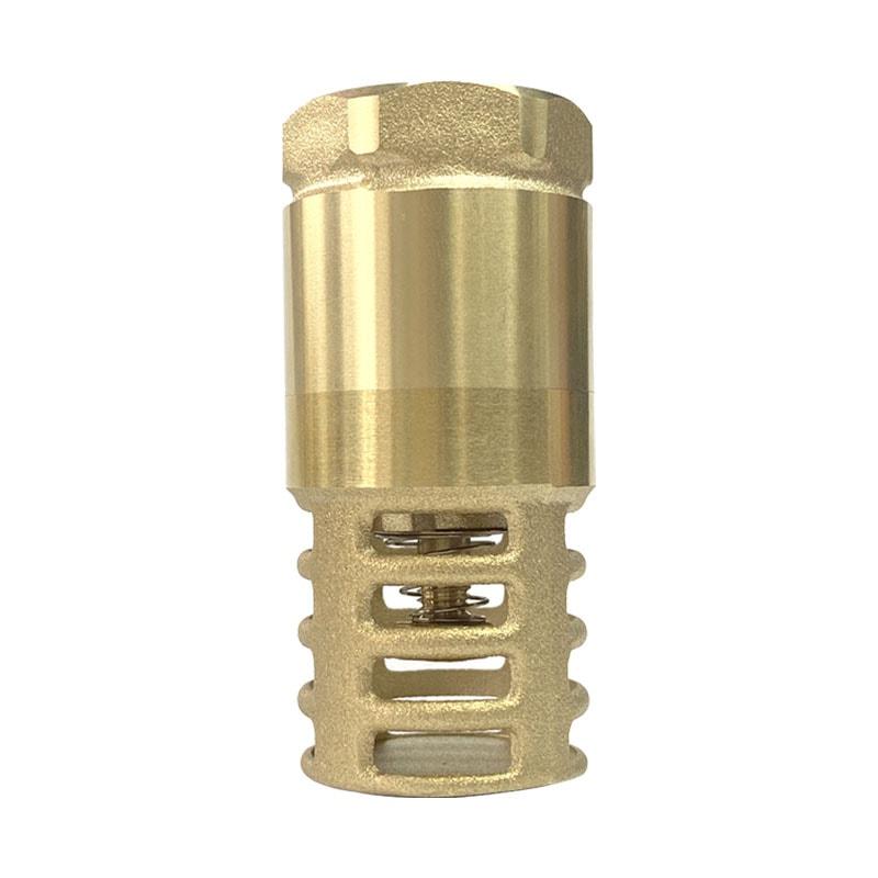 1 1/2 brass foot valve for pump