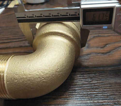 Half inch NPT Brass Swivel
