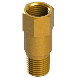 inline brass check valve